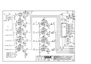 принципиальная электрическая схема faac